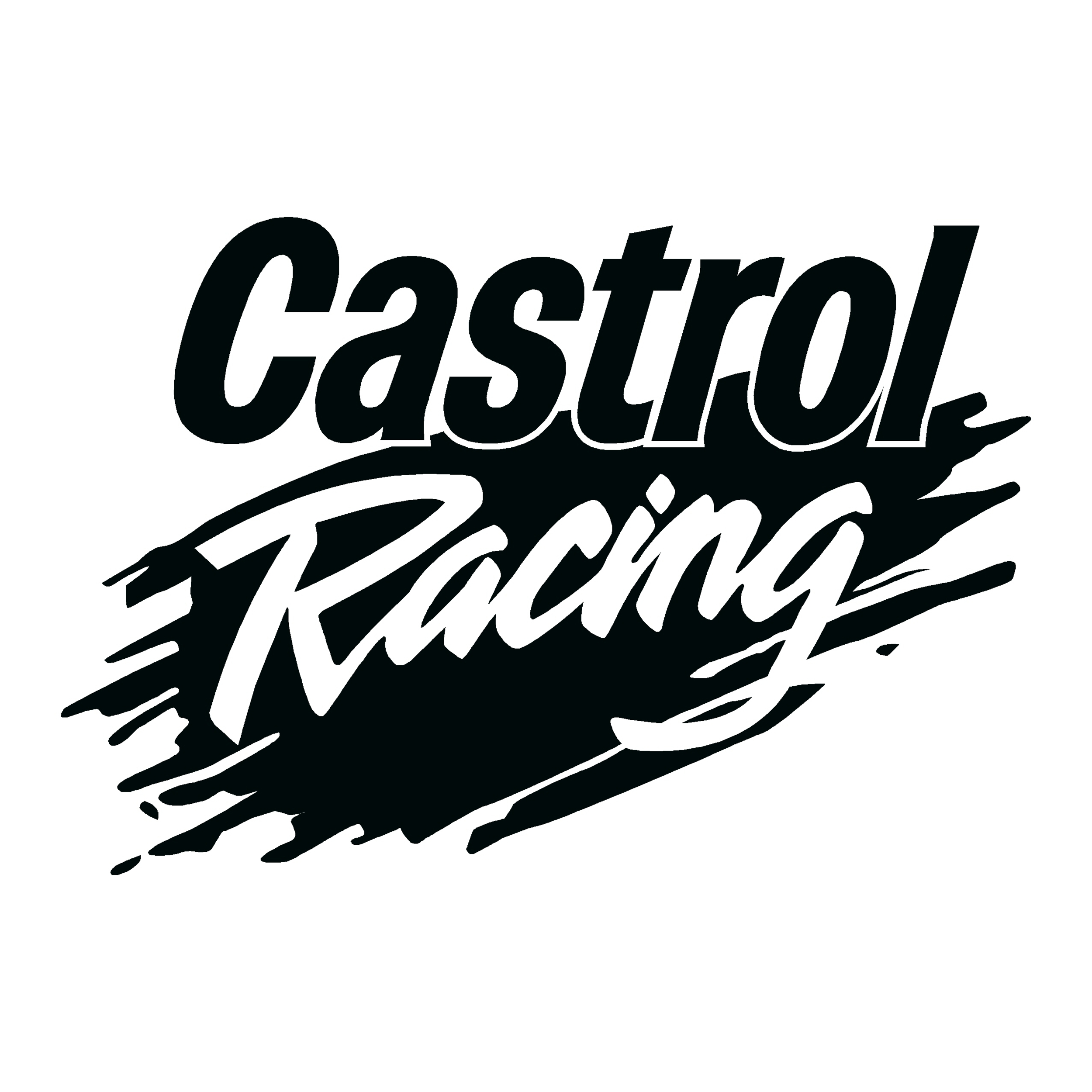 Sticker castrol racing ref 1 sponsors off road stickers