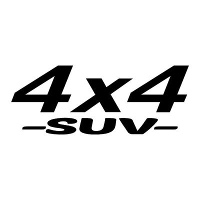 Sticker logo 4x4 suv ref 9