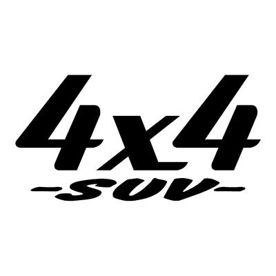 Sticker logo 4x4 suv ref 17