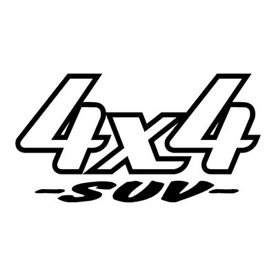 Sticker logo 4x4 suv ref 18
