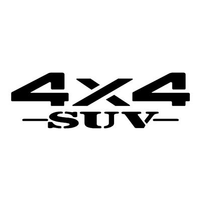 Sticker logo 4x4 suv ref 25