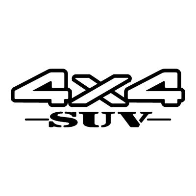 Sticker logo 4x4 suv ref 26
