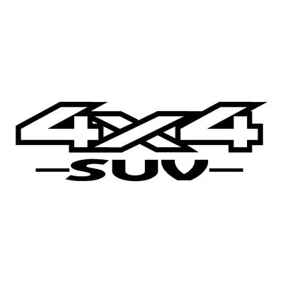 Sticker logo 4x4 suv ref 34