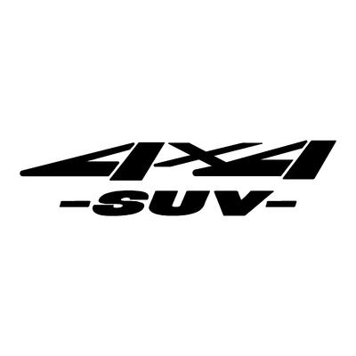 Sticker logo 4x4 suv ref 41