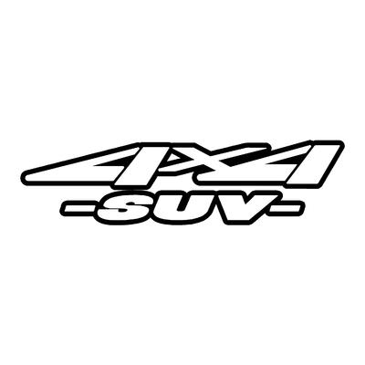 Sticker logo 4x4 suv ref 45