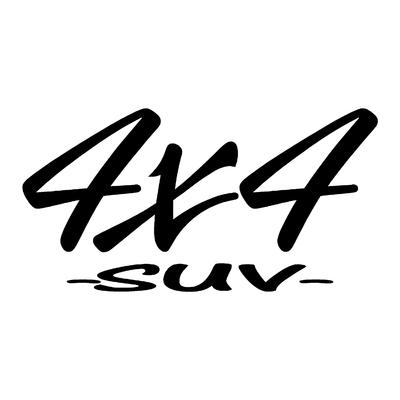 Sticker logo 4x4 suv ref 49