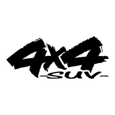 Sticker logo 4x4 suv ref 89