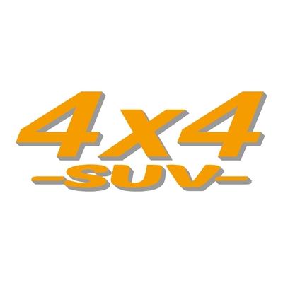 Sticker logo 4x4 suv ref 11
