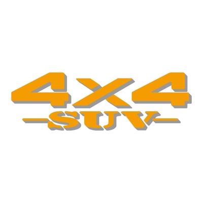 Sticker logo 4x4 suv ref 27