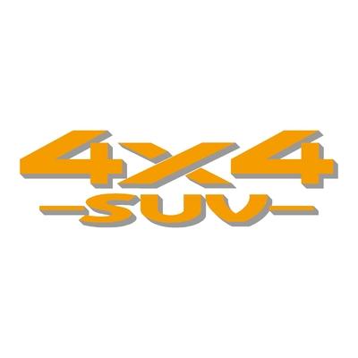 Sticker logo 4x4 suv ref 35
