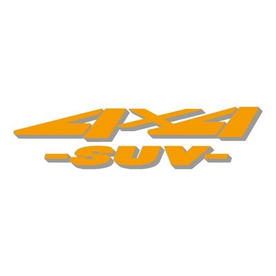 Sticker logo 4x4 suv ref 43
