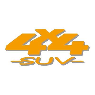 Sticker logo 4x4 suv ref 59