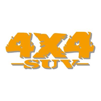 Sticker logo 4x4 suv ref 83