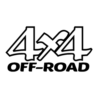 Sticker logo 4x4 off-road ref 50