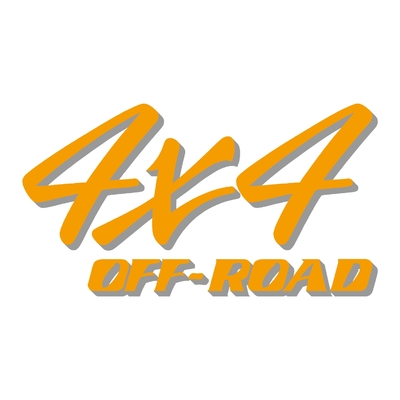 Sticker logo 4x4 off-road ref 59