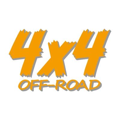 Sticker logo 4x4 off-road ref 83