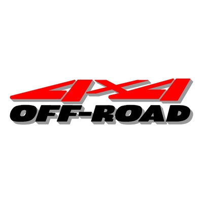 Sticker logo 4x4 off-road ref 46