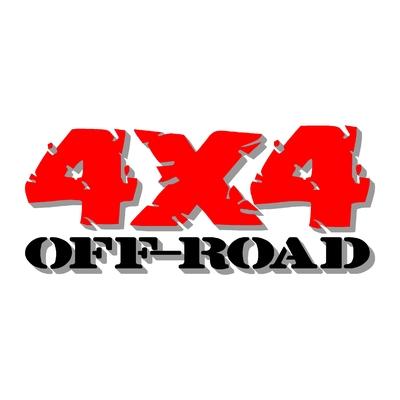 Sticker logo 4x4 off-road ref 78