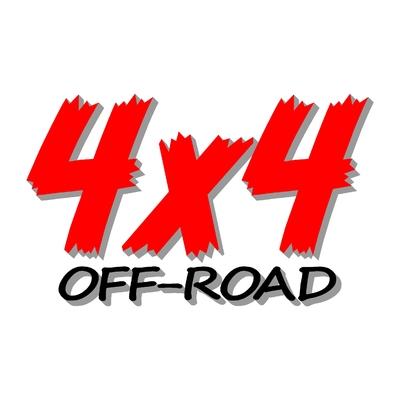 Sticker logo 4x4 off-road ref 86