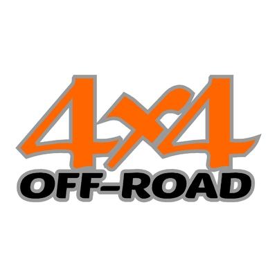 Sticker logo 4x4 off-road ref 55