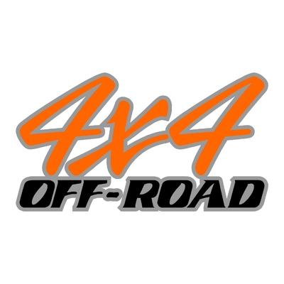 Sticker logo 4x4 off-road ref 63