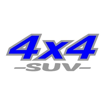 Sticker logo 4x4 suv ref 12