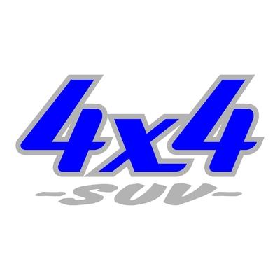 Sticker logo 4x4 suv ref 20