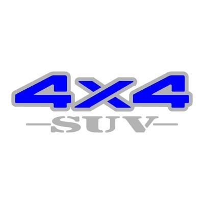 Sticker logo 4x4 suv ref 28