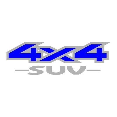 Sticker logo 4x4 suv ref 36