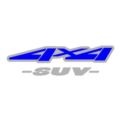 Sticker logo 4x4 suv ref 44