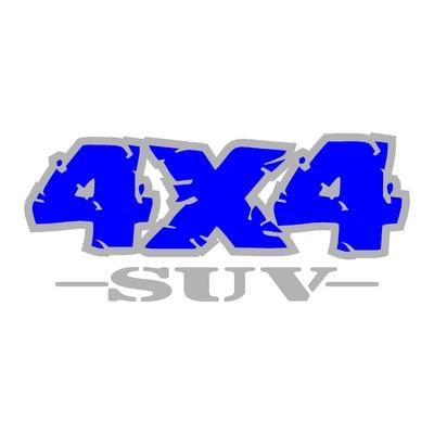 Sticker logo 4x4 suv ref 84