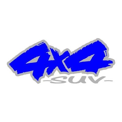 Sticker logo 4x4 suv ref 92