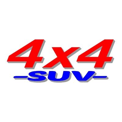 Sticker logo 4x4 suv ref 14