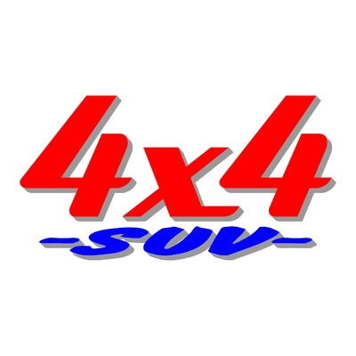 Sticker logo 4x4 suv ref 22