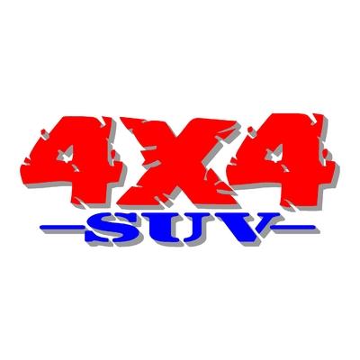 Sticker logo 4x4 suv ref 86