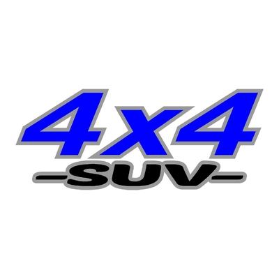 Sticker logo 4x4 suv ref 15