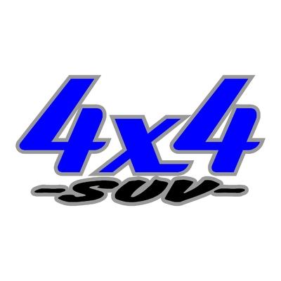 Sticker logo 4x4 suv ref 23