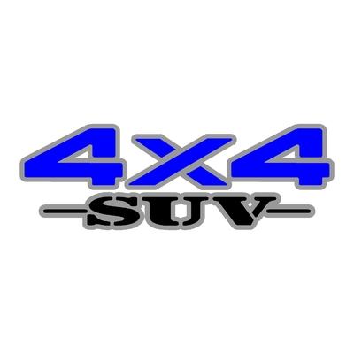 Sticker logo 4x4 suv ref 31