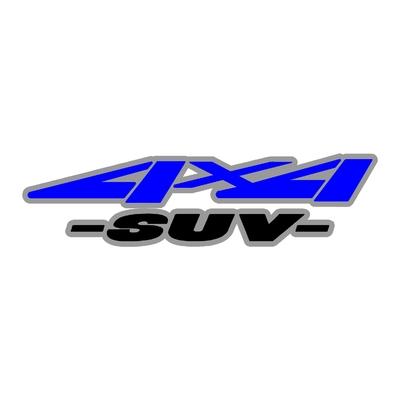 Sticker logo 4x4 suv ref 47