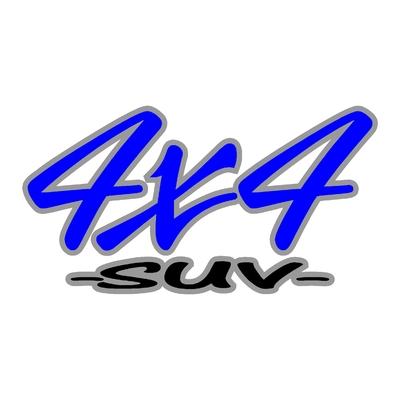 Sticker logo 4x4 suv ref 55