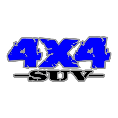Sticker logo 4x4 suv ref 87