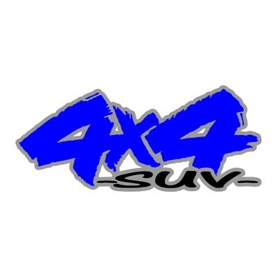 Sticker logo 4x4 suv ref 95