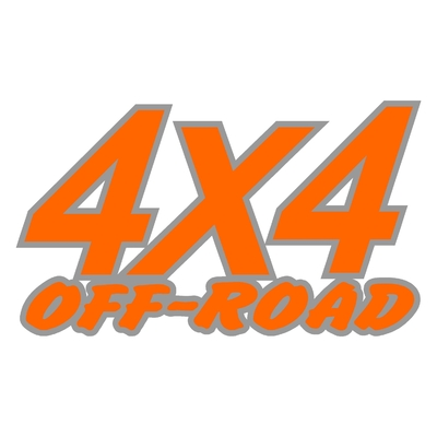 Sticker logo 4x4 off-road ref 16