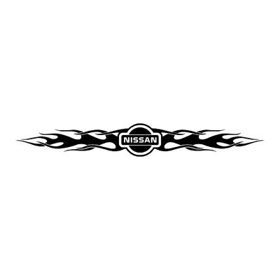 Sticker NISSAN ref 24