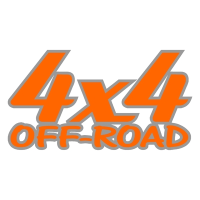 Sticker logo 4x4 off-road ref 24