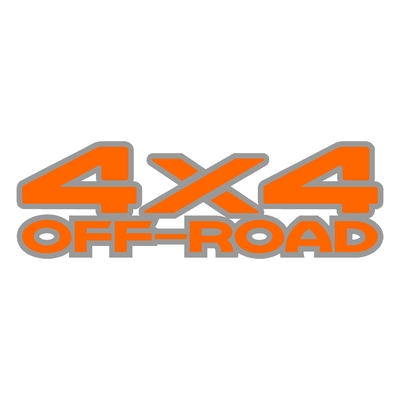 Sticker logo 4x4 off-road ref 32