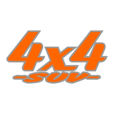 Sticker logo 4x4 suv ref 24