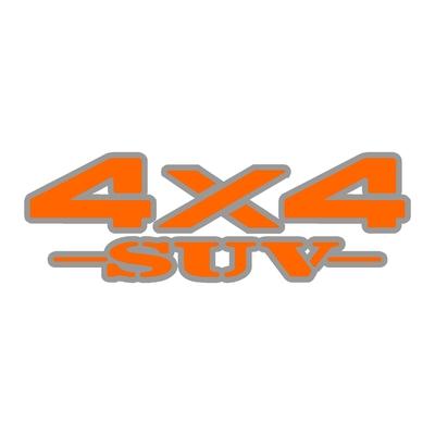 Sticker logo 4x4 suv ref 32