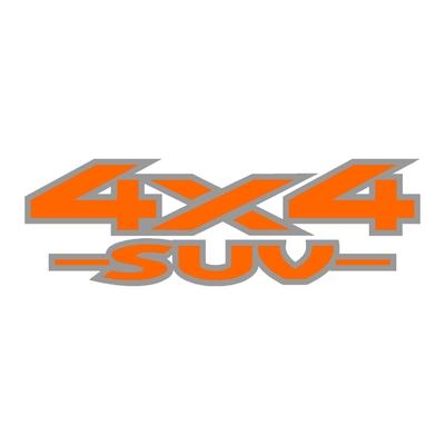 Sticker logo 4x4 suv ref 40