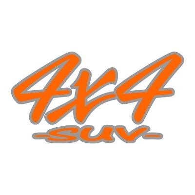 Sticker logo 4x4 suv ref 56